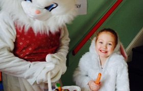 Easter Bunny to hop on over Easter Sunday 20 April